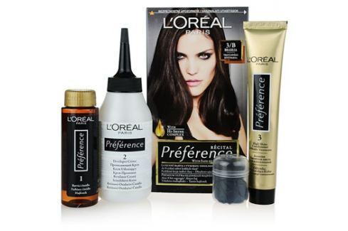 L'Oréal Paris Préférence barva na vlasy odstín 3/B Brasilia Barvy na vlasy