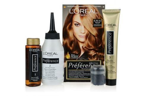 L'Oréal Paris Préférence barva na vlasy odstín 6.35/A3 Havane Barvy na vlasy
