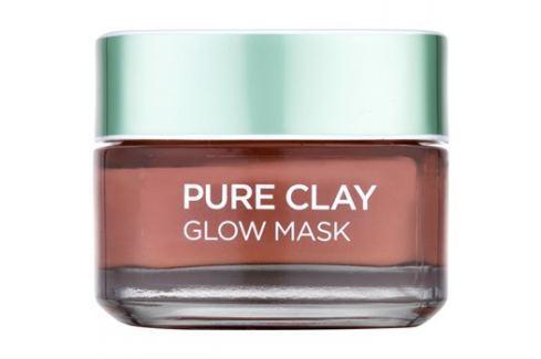 L'Oréal Paris Pure Clay exfoliační maska  50 ml Pleťové masky