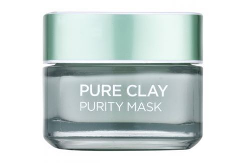L'Oréal Paris Pure Clay čisticí zmatňující maska  50 ml Pleťové masky