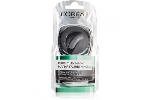 L'Oréal Paris Pure Clay detoxikační maska  6 ml Pleťové masky