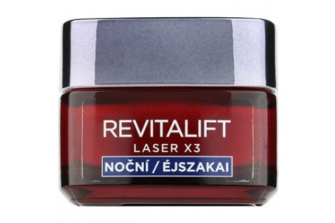 L'Oréal Paris Revitalift Laser X3 noční regenerační krém proti stárnutí pleti  50 ml Noční krémy