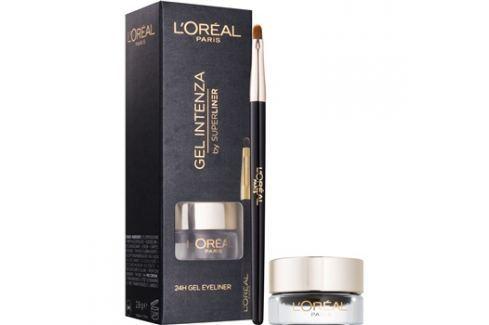 L'Oréal Paris Super Liner gelové oční linky odstín 01 Pure Black  2,8 g Oční linky