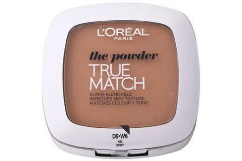 L'Oréal Paris True Match kompaktní pudr odstín D6/W6 Honey 9 g Pudry