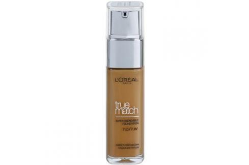 L'Oréal Paris True Match tekutý make-up odstín 7D/7W Golden Amber 30 ml up