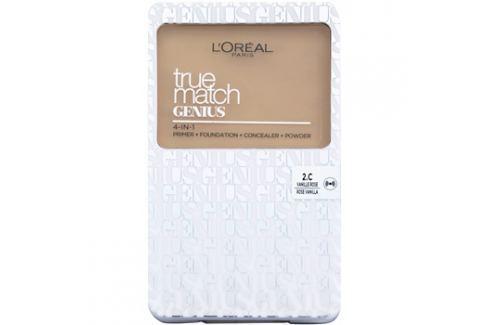 L'Oréal Paris True Match Genius kompaktní make-up 4 v 1 odstín 2.C Rose Vanilla SPF 30 7 g up
