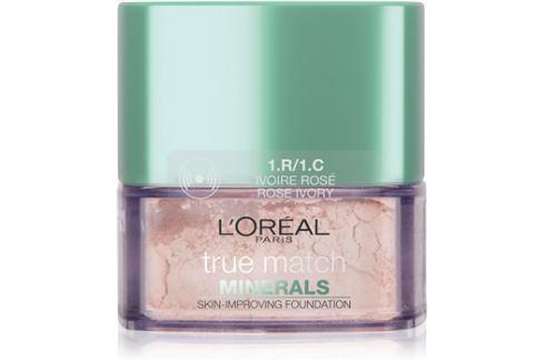 L'Oréal Paris True Match Minerals pudrový make-up odstín 1.R/1.C Rose Ivory 10 g up