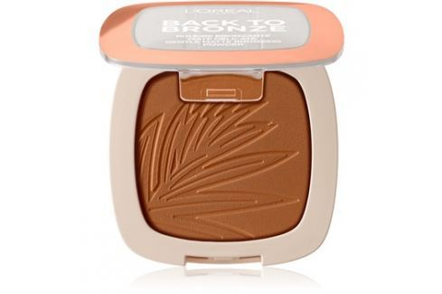 L'Oréal Paris Wake Up & Glow Back to Bronze bronzer odstín 02 Sunkiss 9 g Pudry