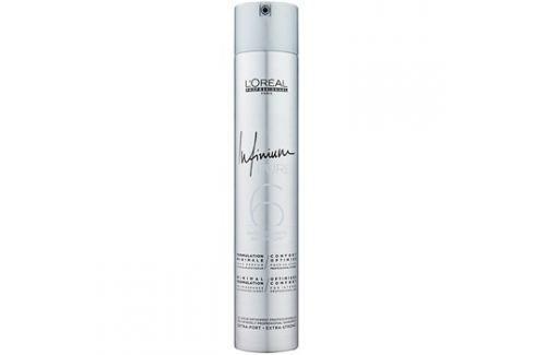 L'Oréal Professionnel Infinium Pure hypoalergenní lak na vlasy s extra silnou fixací bez parfemace  500 ml Laky na vlasy