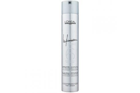L'Oréal Professionnel Infinium Pure hypoalergenní lak na vlasy silné zpevnění bez parfemace  500 ml Laky na vlasy