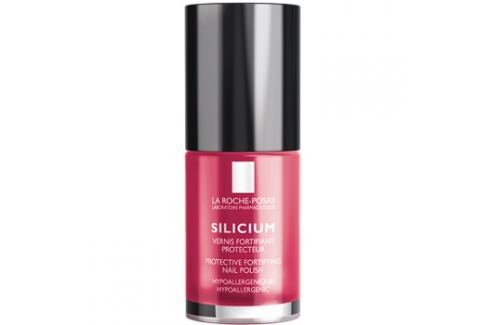 La Roche-Posay Silicium Color Care lak na nehty odstín 18 Rose Vif  6 ml Laky na nehty