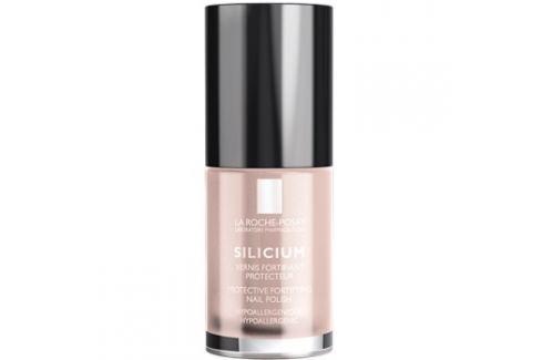 La Roche-Posay Silicium Color Care lak na nehty odstín 14 Pearly mavue  6 ml Laky na nehty