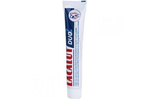Lacalut Duo pasta posilující zubní sklovinu  75 ml Pro kompletní ochranu