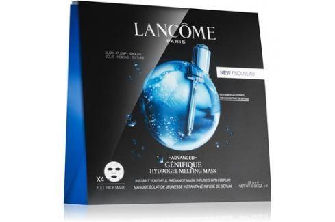Lancôme Génifique Advanced omlazující a rozjasňující maska s hydratačním účinkem Hydrogel Melting Mask 4 x 28 g Pleťové masky