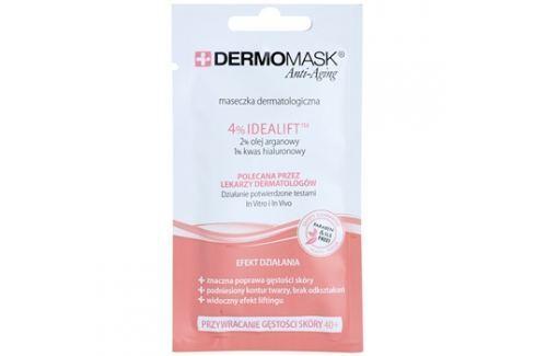 L'biotica DermoMask Anti-Aging maska pro obnovu hutnosti pleti 40+  12 ml Pleťové masky