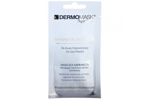 L'biotica DermoMask Night Active vyplňující maska proti hlubokým vráskám  12 ml Pleťové masky