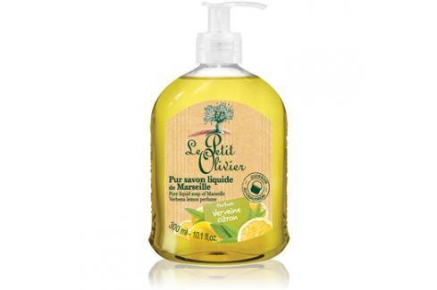 Le Petit Olivier Verbena & Lemon tekuté mýdlo  300 ml Tekutá mýdla