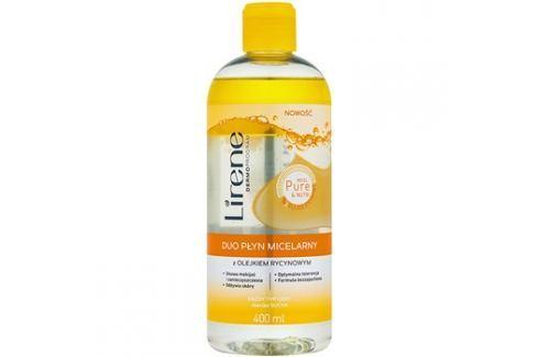 Lirene Micel Pure Nutri dvoufázová micelární voda s ricinovým olejem  400 ml Odličovače očí