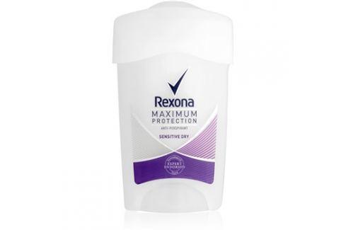 Rexona Maximum Protection Sensitive Dry krémový antiperspirant  45 ml Deodoranty