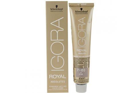 Schwarzkopf Professional IGORA Royal Absolutes barva na vlasy odstín 7-70  60 ml Barvy na vlasy