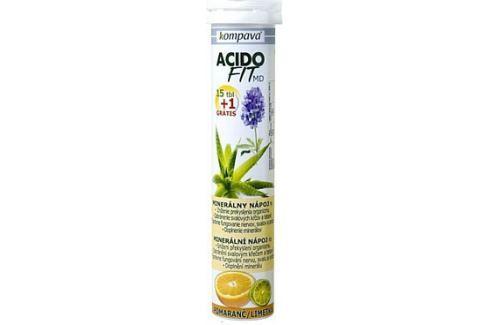 AcidoFit MD pomaranč/limetka tbl.eff.15+1 zdarma Detoxikace organismu