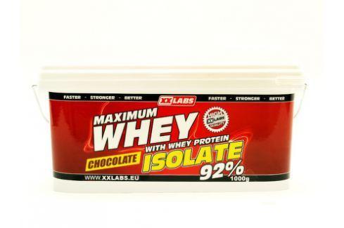 Maximum Whey Protein Isolate 92 1000 g čokoláda Sportovní výživa