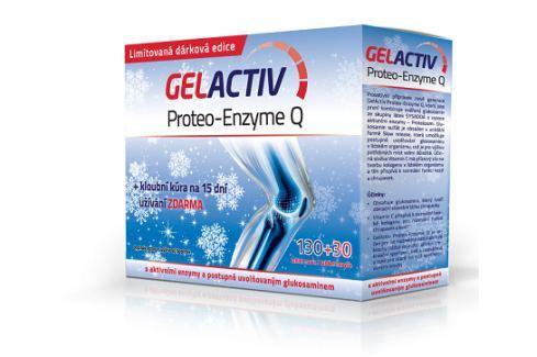 GelActiv Proteo-Enzyme Q tbl.130+30Zdarma Vánoce 2016 Dárky pro muže