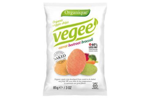 Organic veggie chips carrot beetrot broccoli 85g Potraviny