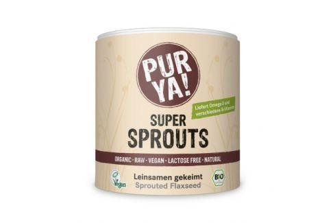 PURYA! Bio Naklíčené lněné semínko 200 g Bezlepkové potraviny