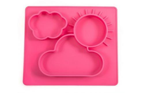 Podložka servírovací Foodie Pink Petite&Mars Potřeby pro krmení