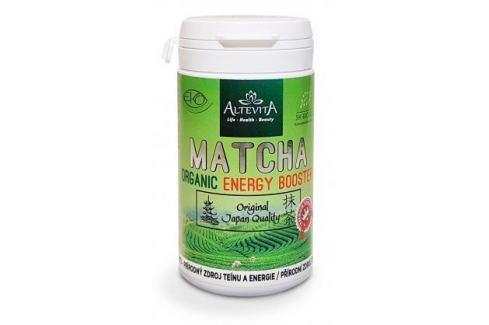Bio matcha - organic energy booster 80ks veganských kapslí Speciální doplňky stravy
