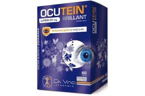 Ocutein Brillant Lutein 25mgDaVinci 60tob Vitamíny pro oči
