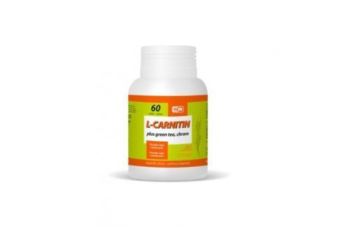 L-Carnitin Plus Green Tea + Chrom tbl. 60 Čaje, potraviny