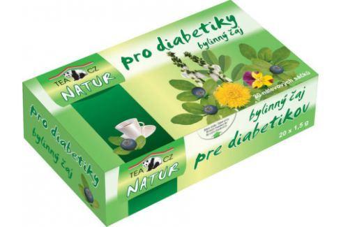 PANDA NATUR Bylinný čaj pro diabetiky 20x1.5g n Pro diabetiky