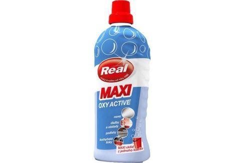 Real Maxi Oxy Active univerzální prostředek na mytí všech typů podlah a omyvatelných povrchů 1000 g Čistící prostředky
