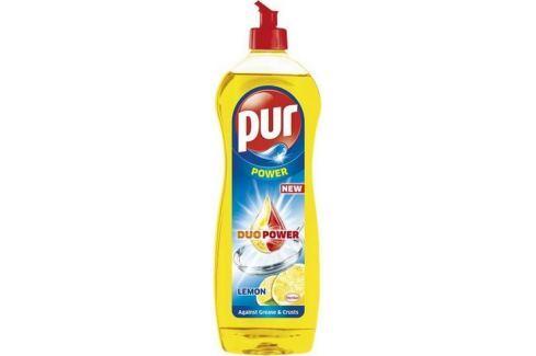 Pur Duo Power Lemon prostředek na ruční mytí nádobí 900 ml Mycí prostředky