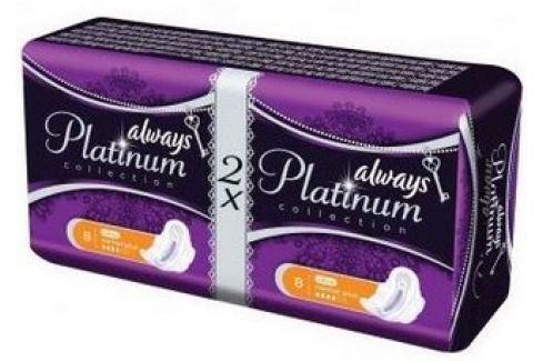Always Platinum Collection Ultra Normal Plus hygienické vložky s křidélky 2 x 8 kusů Hygienické vložky