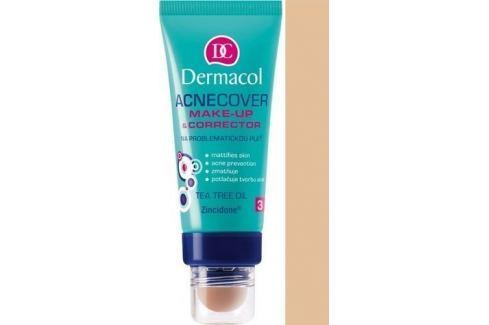 Dermacol Acnecover make-up & Corrector make-up a korektor 03 odstín 30 ml + 3 g Make-up