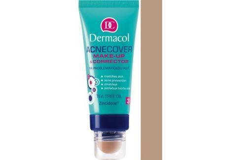 Dermacol Acnecover make-up & Corrector make-up a korektor 04 odstín 30 ml + 3 g Make-up