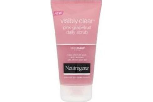 Neutrogena Visibly Clear pink grapefruit peeling 150 ml Pleťové peelingy