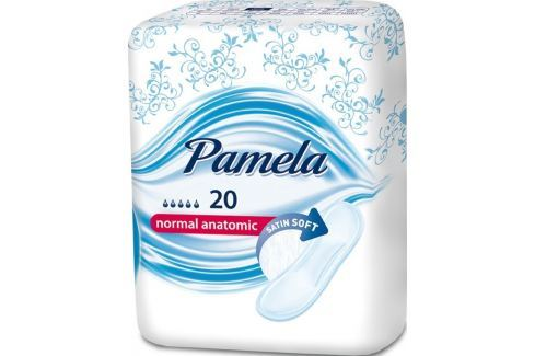 Pamela Normal Anatomic Satin Soft hygienické vložky 20 kusů Hygienické vložky