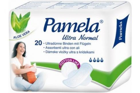 Pamela Ultra Normal Cotton Like intimní vložky 20 ks Hygienické vložky