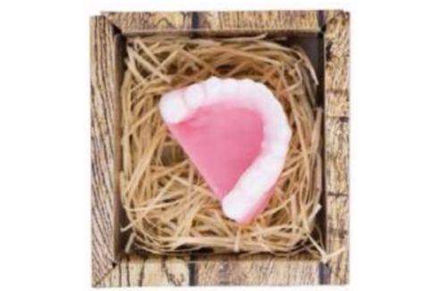 Bohemia Gifts & Cosmetics Zuby ručně vyráběné toaletní mýdlo v krabičce 35 g Mýdla