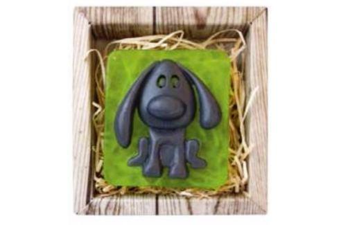 Bohemia Gifts & Cosmetics Pejsek ručně vyráběné toaletní mýdlo v krabičce 85 g Mýdla