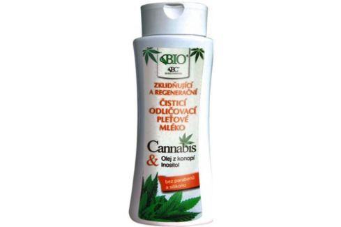 Bione Cosmetics Cannabis čistící odličovací pleťové mléko 255 ml Odličovací mléka a emulze