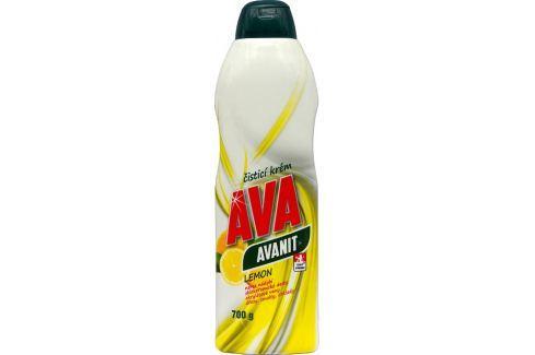 Ava Avanit Lemon čistící krém 700 g Čistící prostředky do koupelny a kuchyně