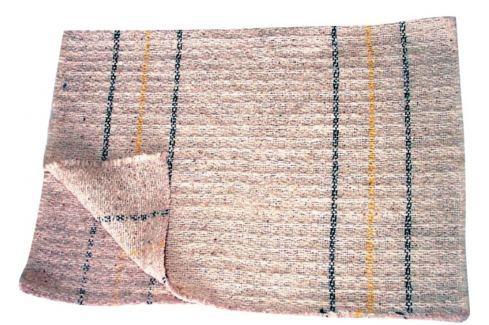 Clanax Hadr tkaný bílý na podlahu 80 x 50 cm 1 kus Houbičky a hadry