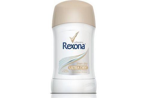 Rexona Dry Linen Dry antiperspirant deodorant stick pro ženy 40 ml Deodoranty a antiperspiranty