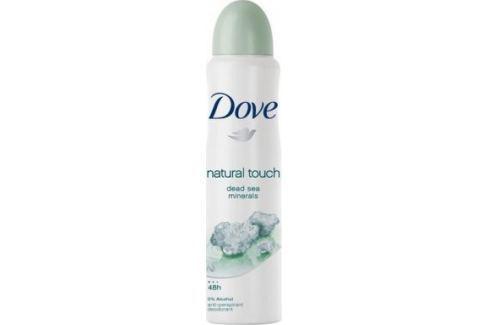 Dove Natural Touch antiperspirant deodorant sprej pro ženy 150 ml Deodoranty a antiperspiranty