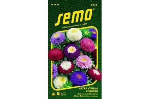 Semo Astra Čínská Pompon směs 0,5 g Semena